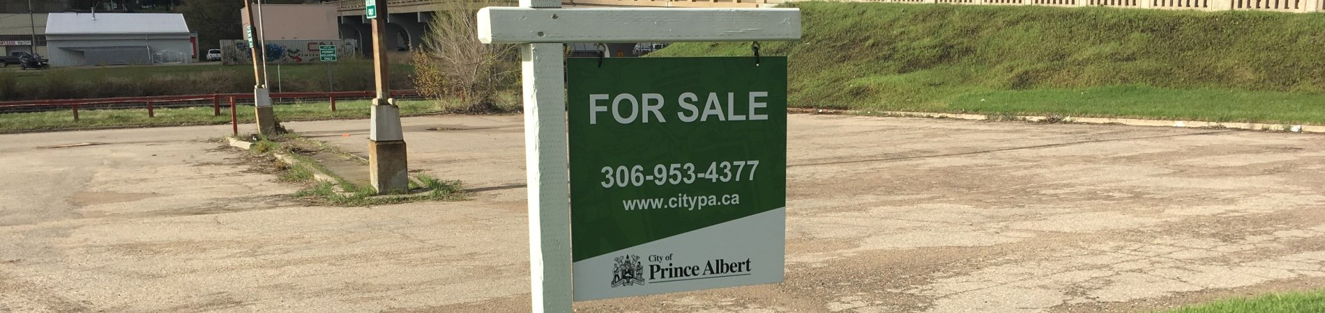 property sale sign