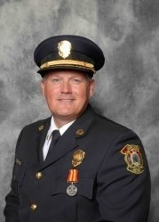 Acting Fire Chief Kris Olsen