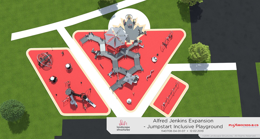Image of addition to Jumpstart playground