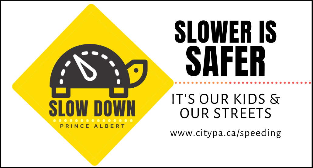 slow down prince albert logo
