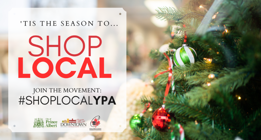 Christmas image for shoplocalypa campaign