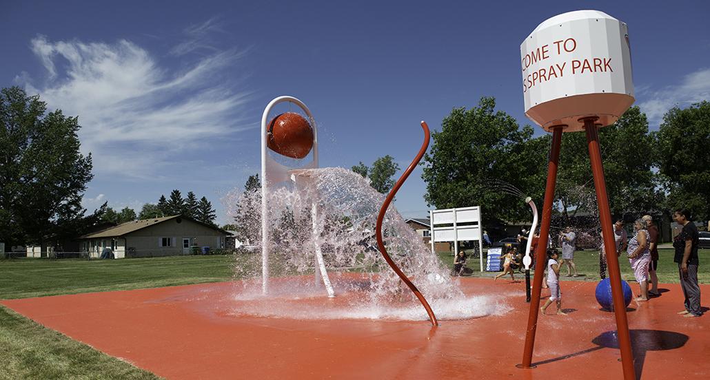 Alfred's Spray Park