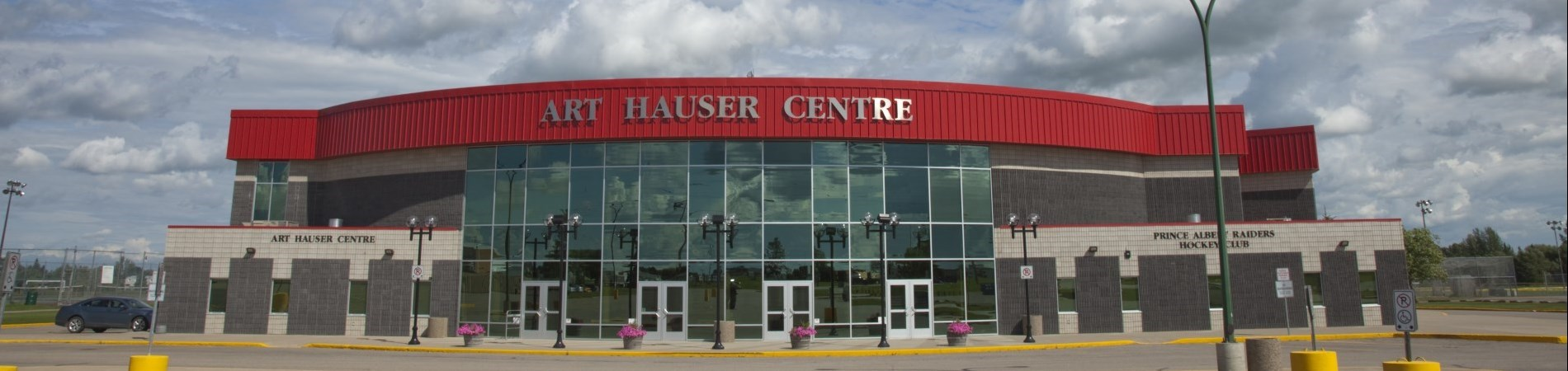 Front of Art Hauser Centre