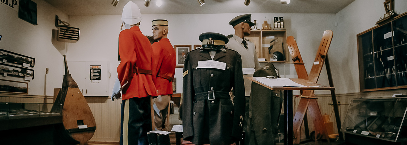Interior of Police and Corrections Museum