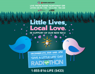 Give a little life day poster