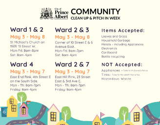 Community Clean-up and Pitch-in week