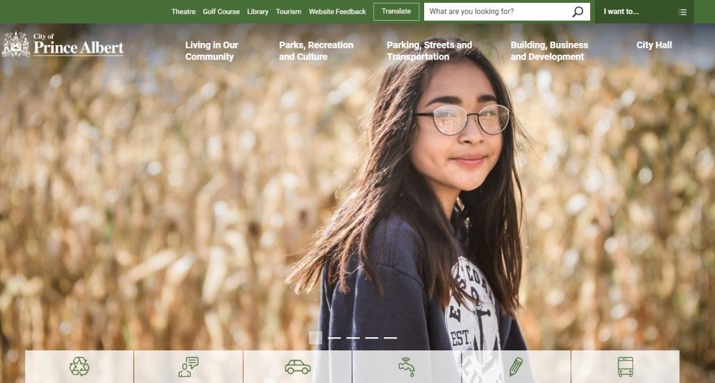 www.citypa.ca landing page